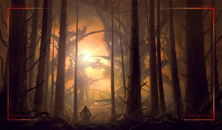Megalis Forest Playmat