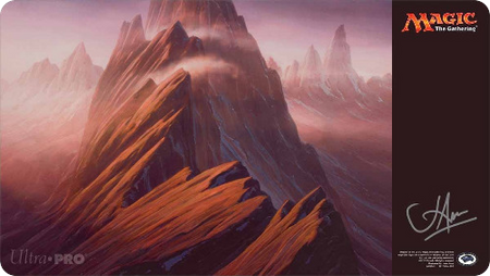 Unstable Mountain Playmat