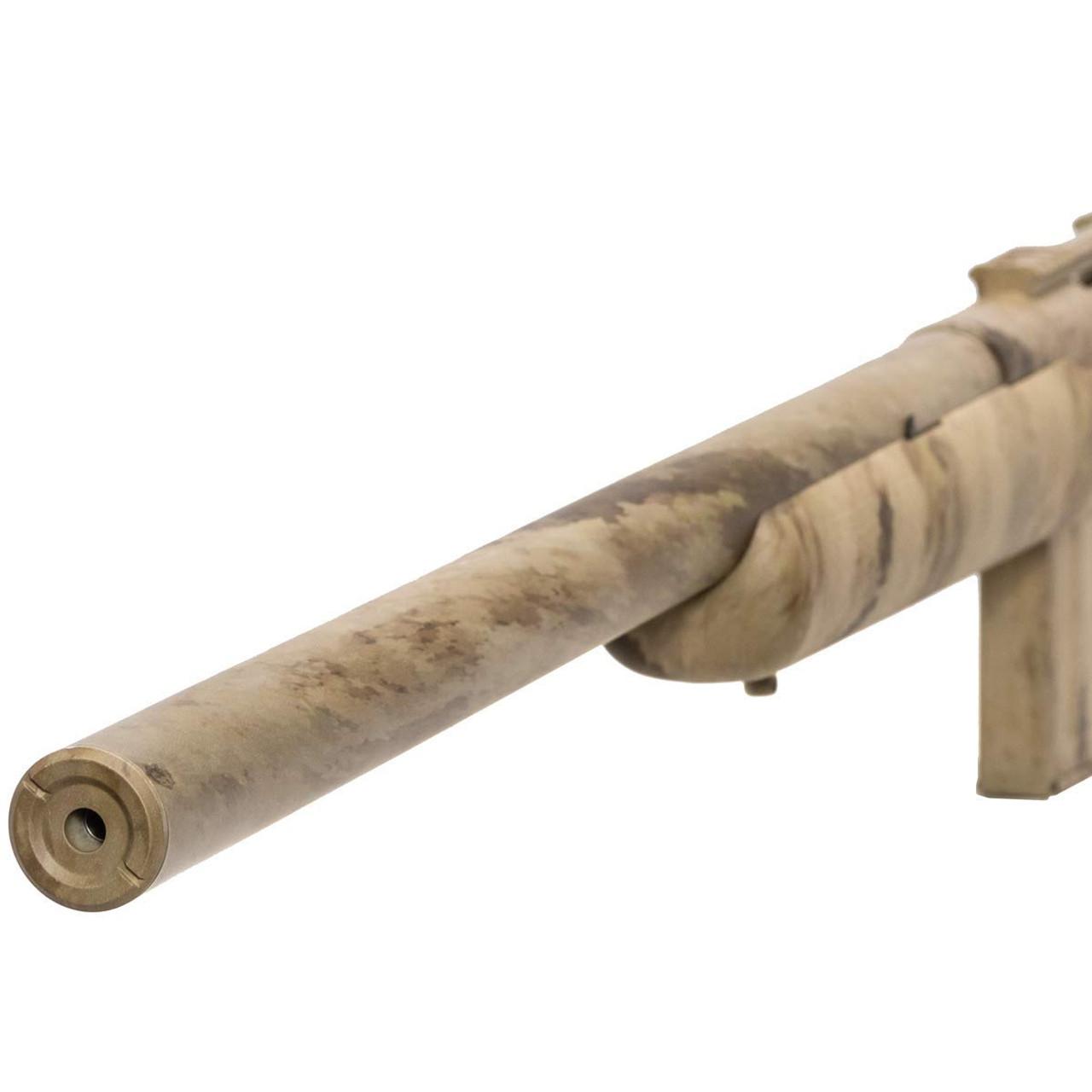 Muzzle left of APS APM40A3 Airsoft Sniper Rifle Gun