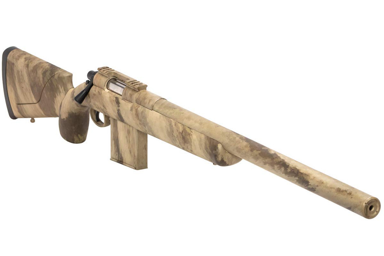Muzzle right of  APS APM40A3 Airsoft Sniper Rifle Gun