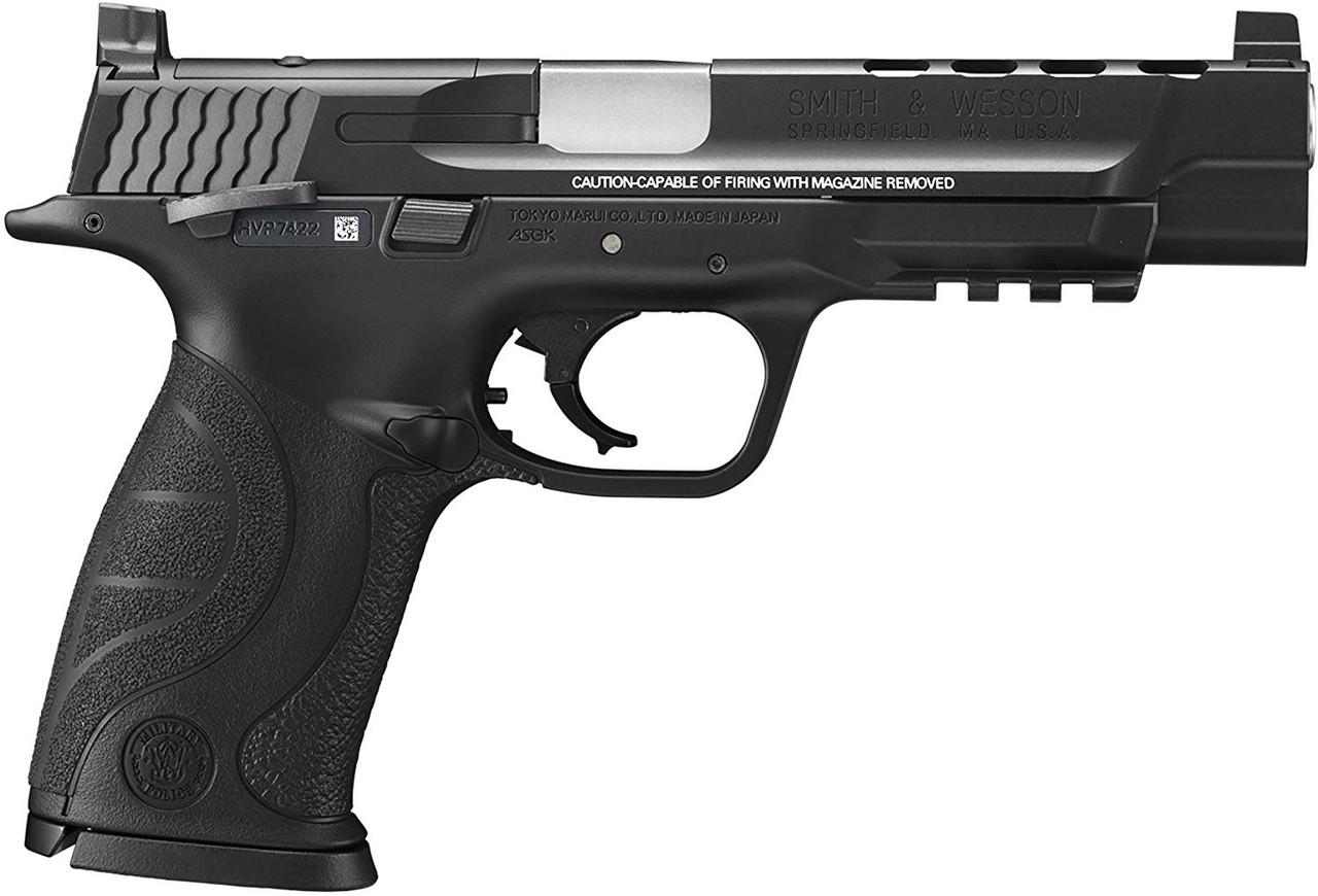 TOKYO MARUI S&W M&P 9L PC Ported Airsoft GBB pistol & Spare Magazine