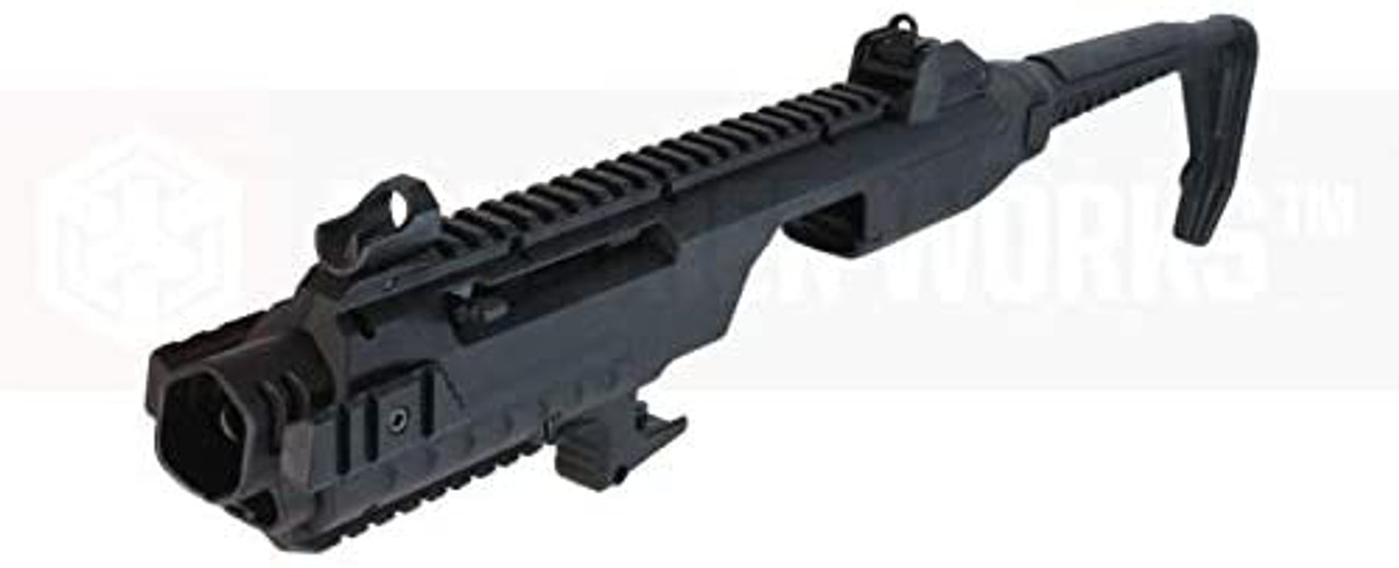 ARMORER WORKS Glock carbine conversion kit black *Airsoft gun is not included