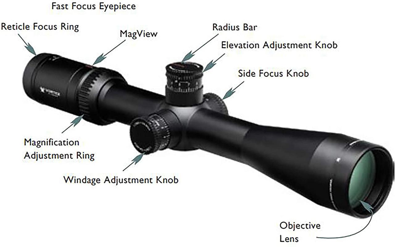 VORTEX VIPER HST 6-24X50 VHS-4310 Rifle Scope
