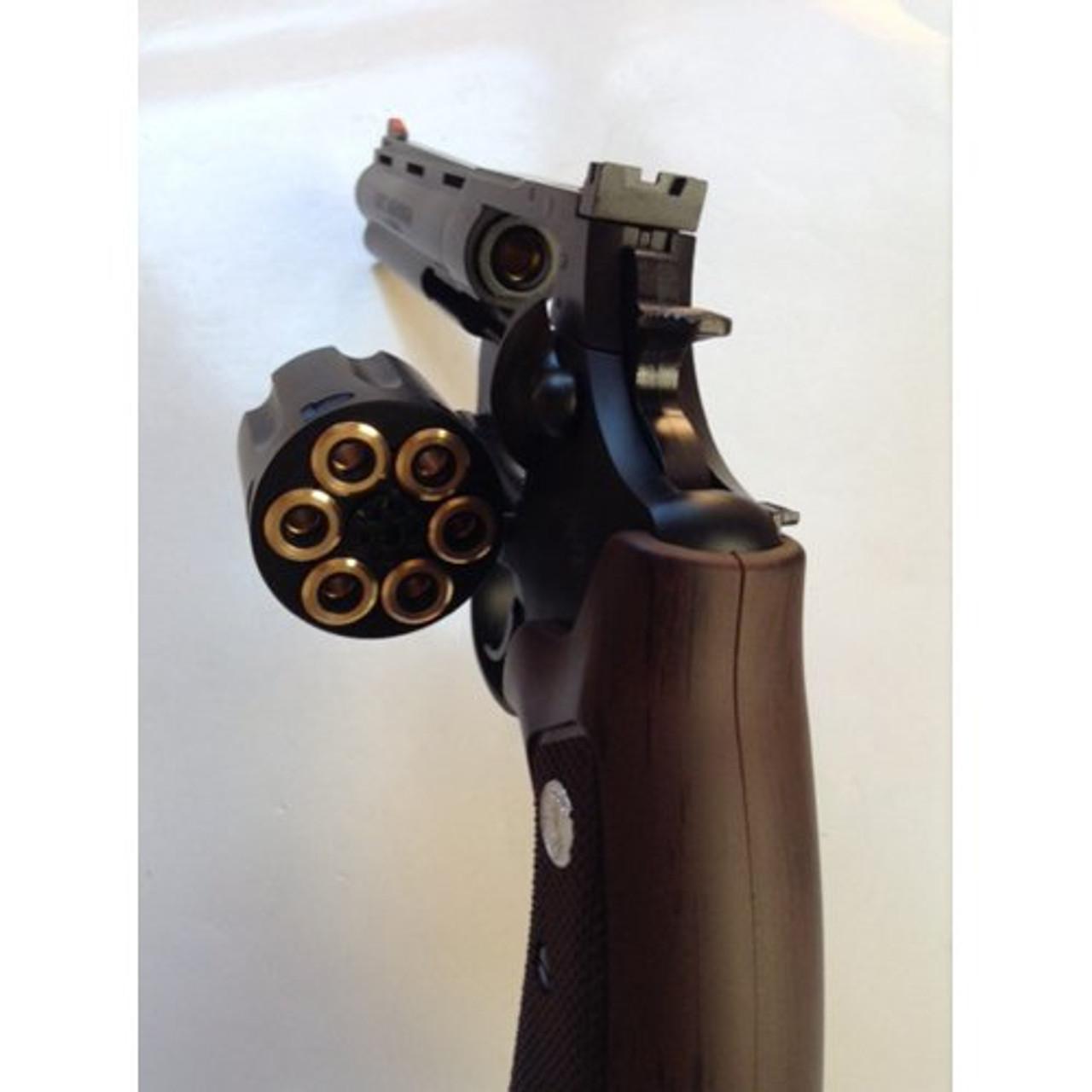Marushin Colt Anaconda X Cart Specification HW Black 6 inch 6 mm Gas  Revolver Airsoft Gun