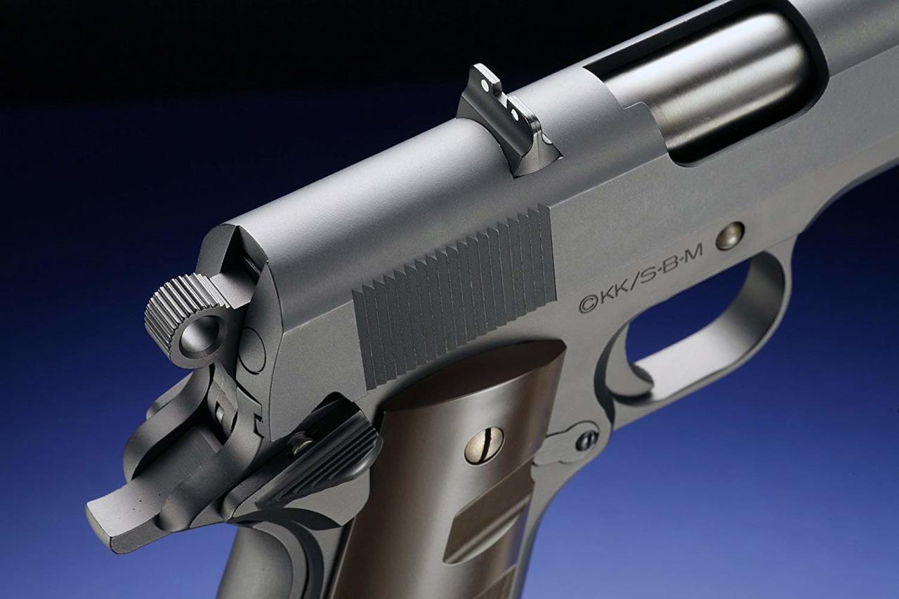 Back right of WA Super Real Gun WA Government Blue Exorcist (Ao No Exorcist) Model Airsoft gun