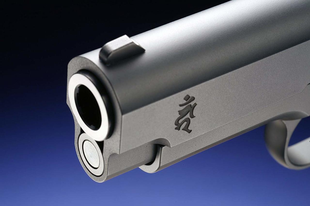 Muzzle of WA Super Real Gun WA Government Blue Exorcist (Ao No Exorcist) Model Airsoft gun