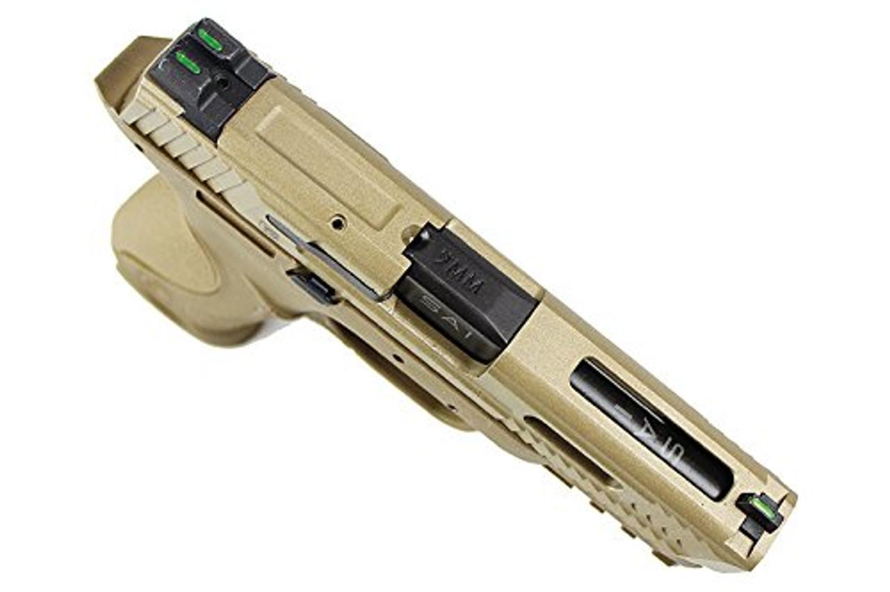 Top of Walther / StarkArms PPQ M2 Tan GBB Airsoft gun