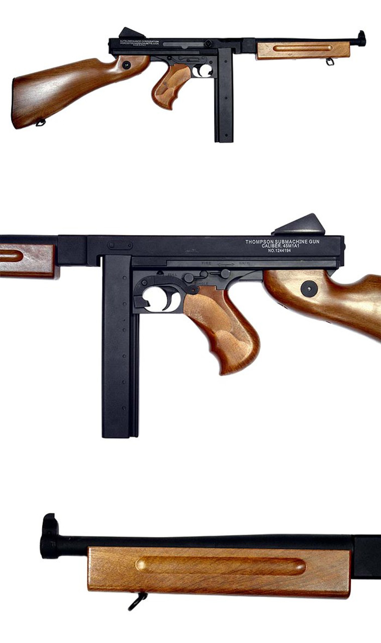 CYMA M1A1 Thompson Airsoft electric rifle gun
