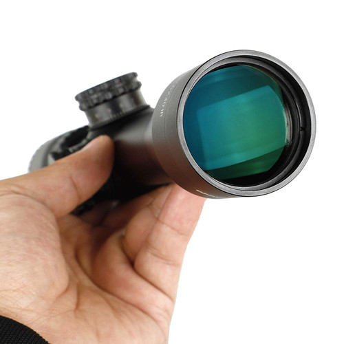 ohhunt LR 2.5-12.5X40 IR riflescope Red illumination 2.5 to 12.5 times variable zoom Mildot glass etching reticle