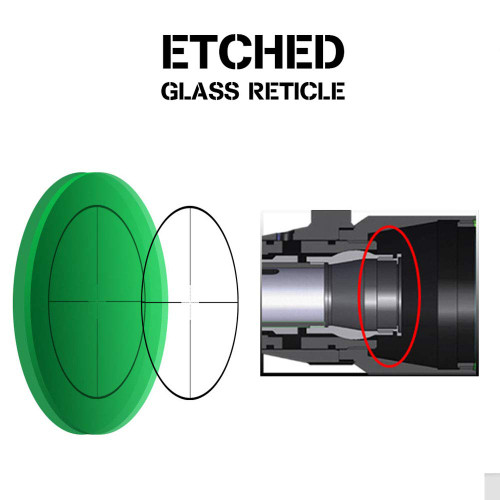 ohhunt LR 1.5-8X28IR compact rifle scope red lighting 1.5 to 8 times variable zoom mill dot glass etching reticle