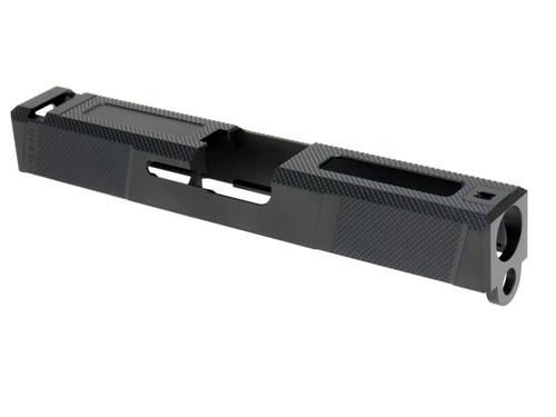 Guns Modify G19 SA Tier1UT Style Aluminum Slide & Box Flute Stainless Barrel Rose Gold