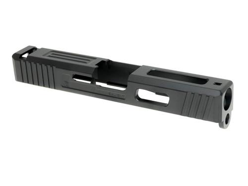 Guns Modify G19 SA Tier1 Style Aluminum Slide & Box Flute Stainless Barrel TiALN