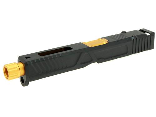 MITA Aluminum Slide CNC Custom Slide Kit RMR READY for TM GBB G17 Black / Gold