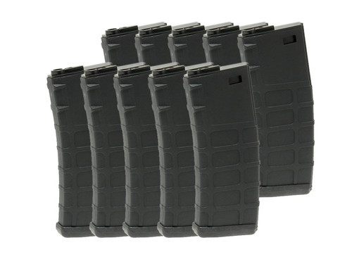 G&P 10 set of GMAG 130Rds magazine AEG M4 BK