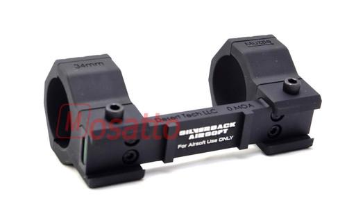 SILVERBACK SRS A1 DESERT TECH Scope Mount 25/30 / 34mm Adapter included (Scope, Mount, SRS)