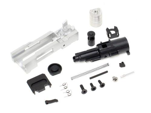 Guns Modify Full Set of SA CNC Tier 1 RMR Aluminum Slide & Box Flute Stainless Outer Barrel w / Blow Back Engine