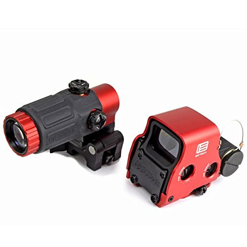EoTech XPS-3 type dot sight & G33-STS type triple booster set red
