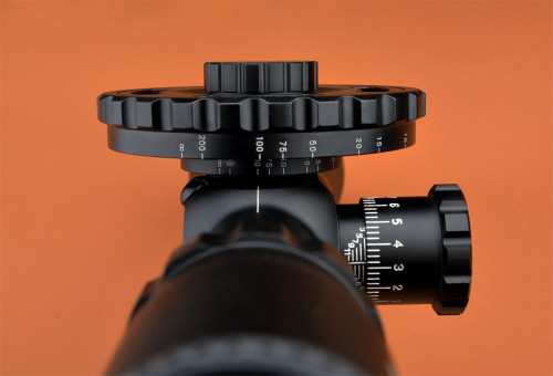 WALTHER FT4 16x56 side focus rifle scope