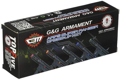 G&G ARMAMENT ARP9 Super Ranger Dress-up Kit-Fire Dress Up Kit Fire (Red)