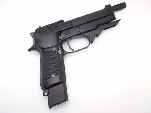 Muzzle right of KSC M93RC 2nd ABS Airsoft Gas gun