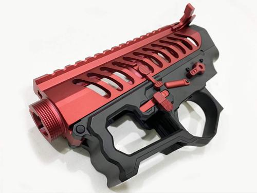 F1 Firearms BDR-15 Electric M4 Skeleton Receiver Set Red / BK