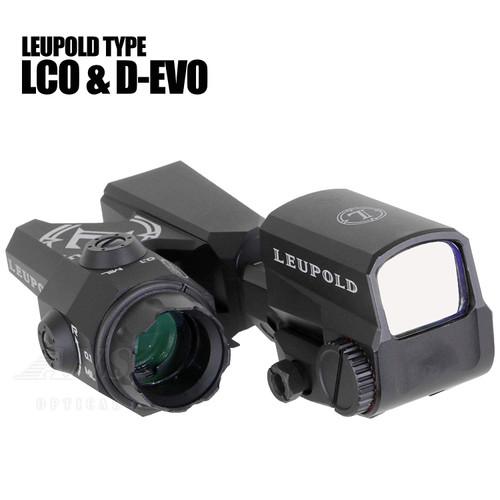 ANS Optical LEUPOLD D-EVO type Scope & LCO type dot sight replica set