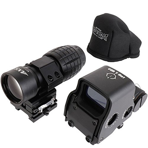 ANS set of Optical L3 X3 Scope Booster & EXPS3-2 Type Holosight QD Mount with Holosight Cover