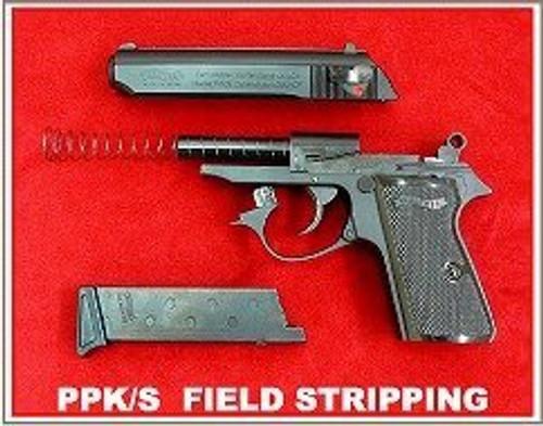 Maruzen Walther NEW PPK / S Black Model GBB Airsoft gun