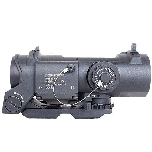 ANS Optical 4x fixed ELCAN SPECTOR DR scope Bk