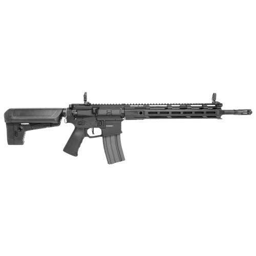Muzzle right of KRYTAC TRIDENT MKIISPR-M Airsoft Rifle gun Combat Gray