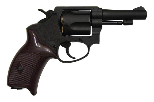 Muzzle right of Marushin 3 inch Black HW Copper Head Cart Specifications Police Gas Revolver Airsoft Gun