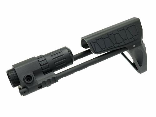 G&P PDW Wired Stock Slim (Snake) TM GBB M4 BK
