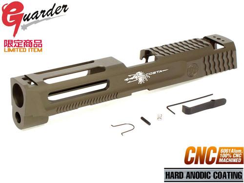 GUARDER A6061 CNC Aluminum Slide 9mm ATEi COSTA for M&P