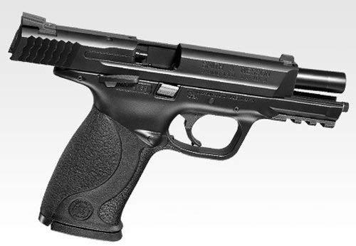Muzzle right of Tokyo Marui S&W M&P9 Airsoft GBB gun