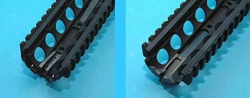 G&P M4 RAS Handguard Kit Black B Type