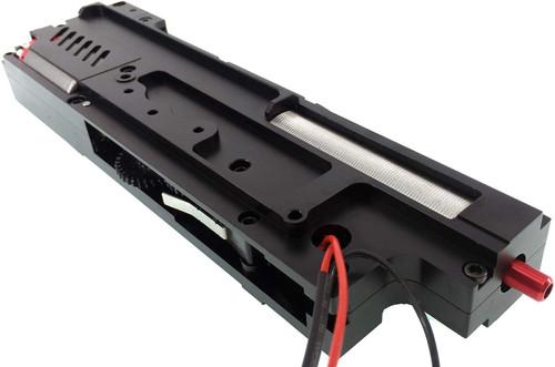 ARMY FORCE Electric Handgun M249 CNC Metal Mechanical Box Black
