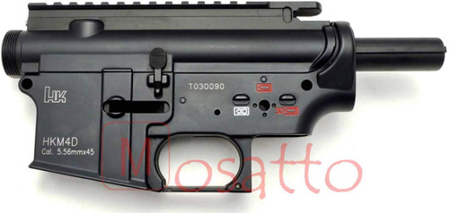 HurricanE H & K HKM4D Metal Frame for Tokyo Marui STD Electric M4 / M16 Series
