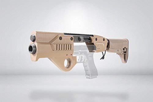 SFBC ORION Glock for Tokyo Marui GLOCK17 / 18C Carbine Conversion Kit Stock Version TAN *Handgun is not included.
