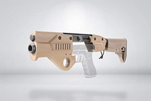 SFBC ORION Glock for Tokyo Marui GLOCK17 / 18C Carbine Conversion Kit Stock Version TAN *Handgun is not included.
