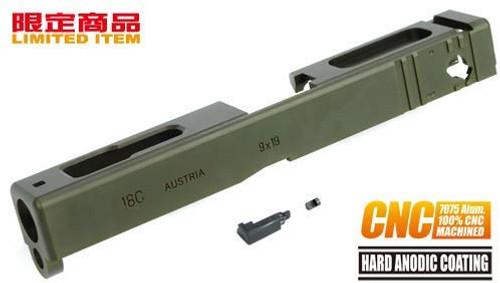 GUARDER 7075 Aluminum CNC Slide Marui Glock G18C Limited Product (OD)