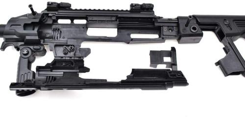 CAA Airsoft RONI G1 Pistol-Carbine Conversion for Glock Black