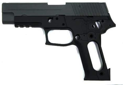 GUARDER Aluminum Conversion Kit Black for Tokyo Marui SIG P226E2 *Pistol is not included
