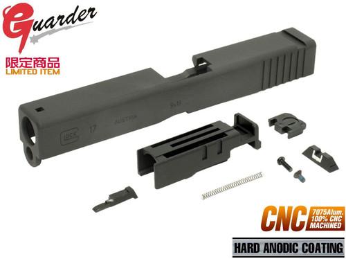 GUARDER A7075CNC aluminum machined slide for Marui GLOCK G17