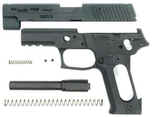 GUARDER Tokyo Marui P226 RAIL aluminum slide frame set black *Pistol is not included