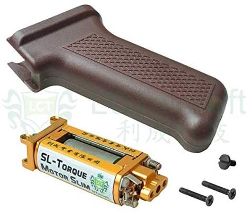 LCT SL Torque Motor Slim Pistol Grip (Dark Red) for PK363 AK AEG Series