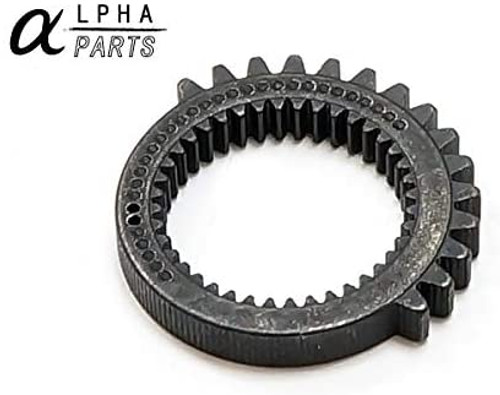 Alpha Parts CNC Custom Gear Set for SYSTEMA Professional Training Weapon