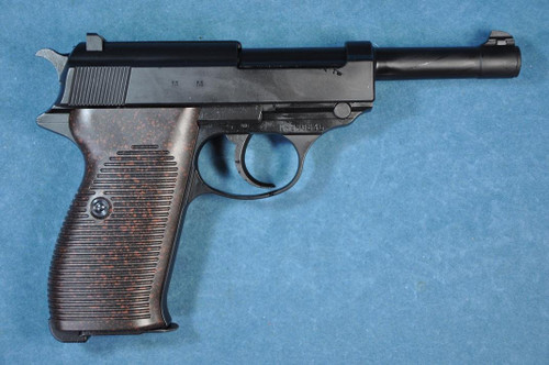 Muzzle right of Marzen Walther P38 AC 41 Black model Gas blow back Airsoft Gun