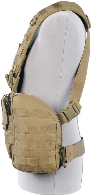 Tasmanian Tiger Chest Rig Mk2 M4 Coyote Brown