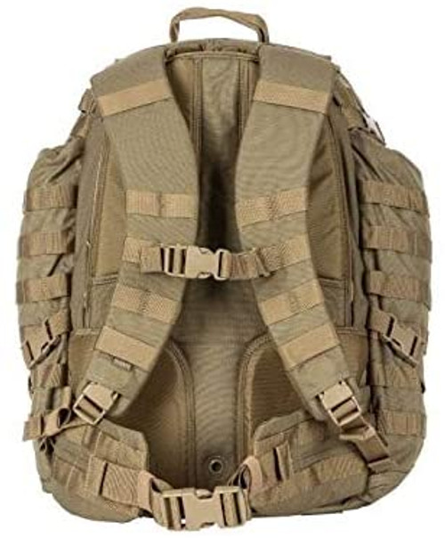 5.11 tactical rush 72 backpack 58602 sand sandstone