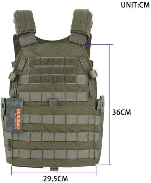 EXCELLENT ELITE SPANKER Plate Carrier Nylon JPC Tactical Vest RGN